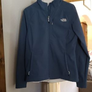 The North Face jacket size large.